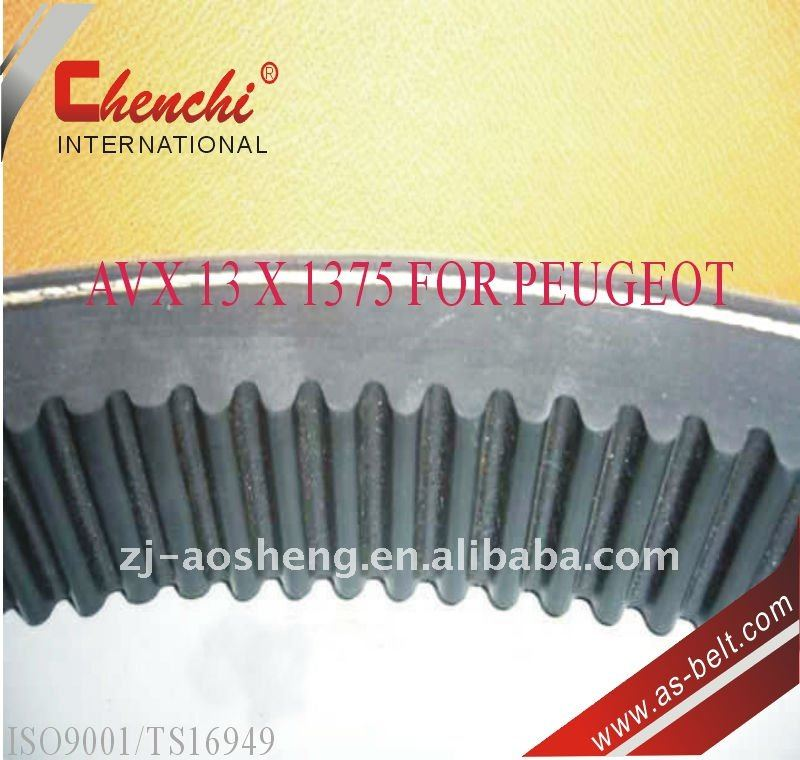 export cogged or raw edge cut v belt in quantity low price for FOR MOTOCYCLE,PUMP,WASHNING MACHINE,FAN,air condition