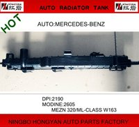 Auto Plastic Radiator Tank for car MERCEDES BENZ,radiator (MODINE:2605 MEZN,ML-CLASS)