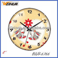Cheap glass clocks for sale
