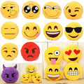 Emoji Pillow Plush / Emoticon Plush Emoji Pillow /Custom Plush Emoji Pillow