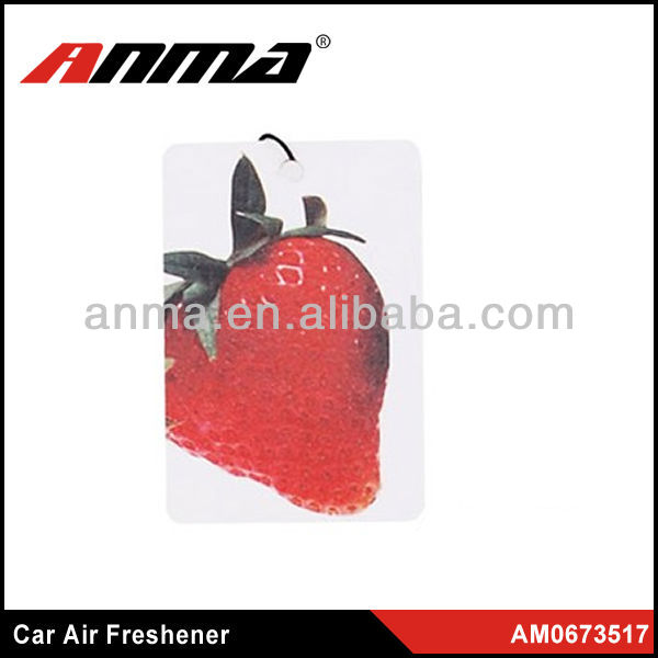 Strawberry smell membrane air freshener