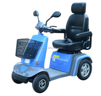 Four Wheel Electric Mobility Scooter with Luxury Chair