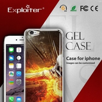Shenzhen Exploiter wholesale gel soft tpu phone case for iphone 6
