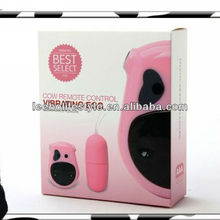 2013 newest sex product for women cow remote control vibrating jump egg vibrator