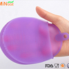 Silicone Kitchen Scrubber Rubber Bowl Dish