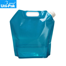 Outdoor Use 2L 3L 5L Easy Handle BPA Free Plastic Water Storage Bag