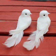feather wedding doves