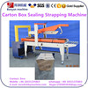 papery carton box Carton Case Sealing Taping strapping packing Machine 5050KZ made in China