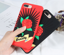 2017 hot sell beauty couple phone case design for iphone x, for iphone x case couple phone case flowers back cover