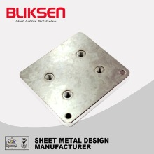 Custom-made lowes perforated sheet metal parts