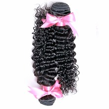 7A Brazilian Deep Wave Curly Virgin Hair With Closure Free Shipping Grade 6A Cheap Brazilian Deep Wave With Closure