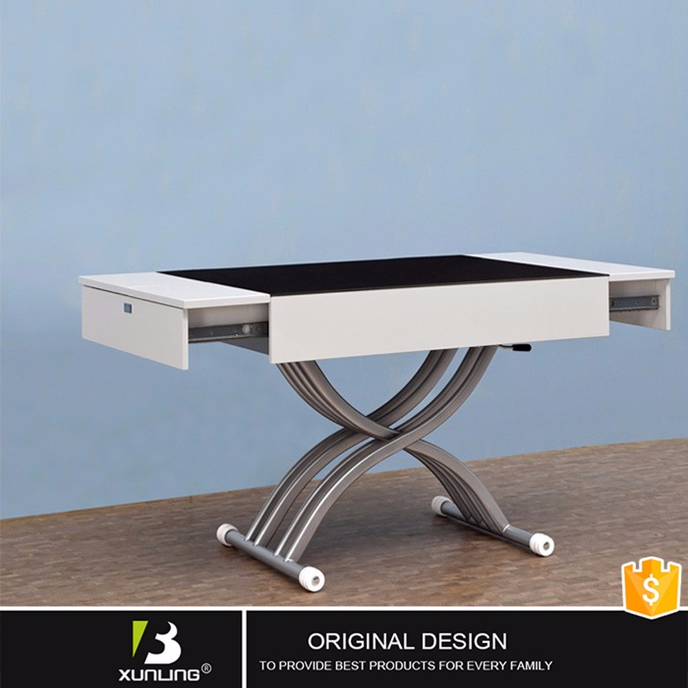Korean Style Rising Coffee Table Dining Table Design