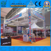 Aluminum exhibition trade fair stand booth expo truss