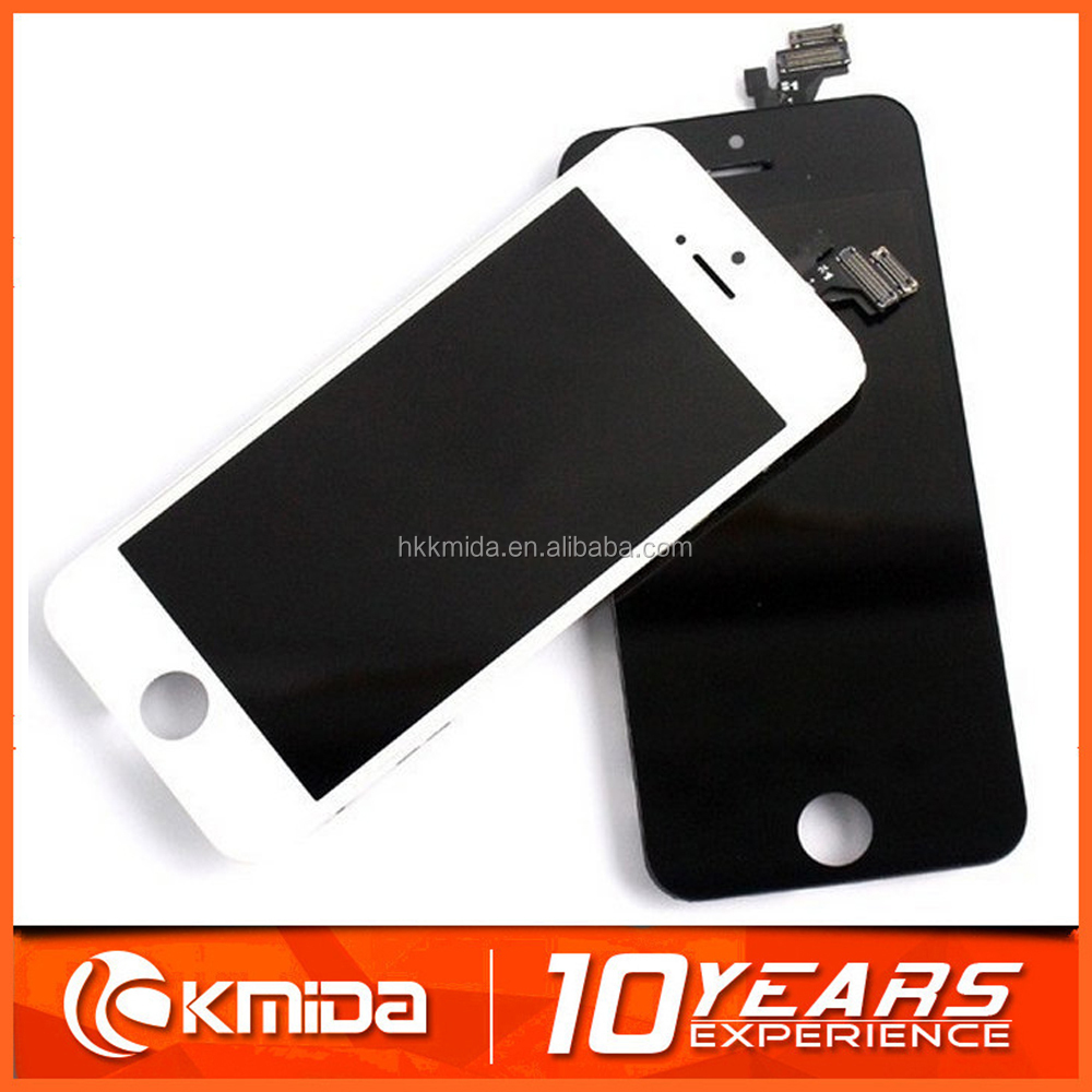Replacement spare parts mobile phone lcd assembly for iphone 5