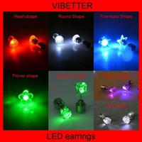 Led Earrings Flashing Led Earring Led