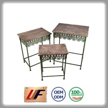 Factory Direct Price Quality Assured Nice Design Home Decoration Adorn Isotop Tables