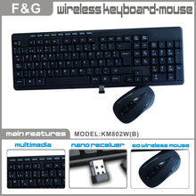 super slim wireless flexible keyboard and mouse