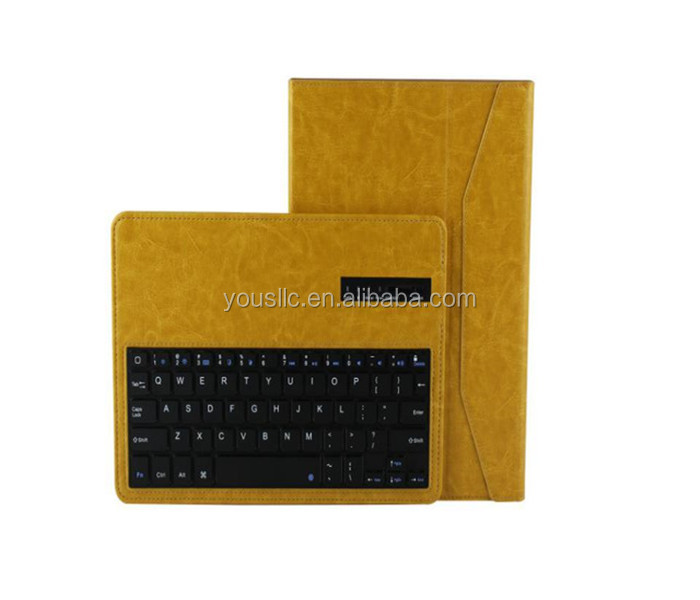 New Detachable Bluetooth Keyboard Leather Case Cover For ipad air ipad 5