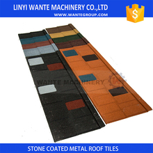 high density stone cated metal roof tile repair cost With Professional Technical
