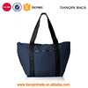Promotional New Arrival Common Fashion Multifunctional Environmental Travel Navy Blue Tote Handbag
