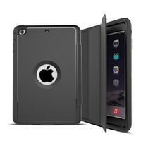 For iPad Mini Leather Case/for iPad Cover Skin Stand Case Smart Cover