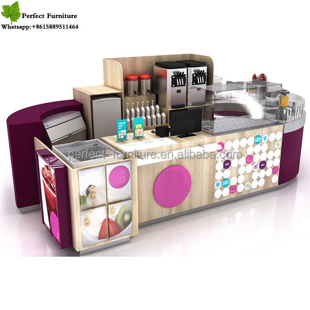 Classical Cafe Style Coffee Kiosk For Sale