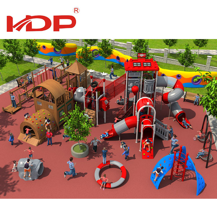 Fabulous design of outdoor playground with theme design