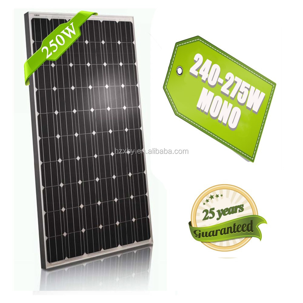 2015 price per 250 watt monocrystalline high quality solar panel silico insulated roof panels