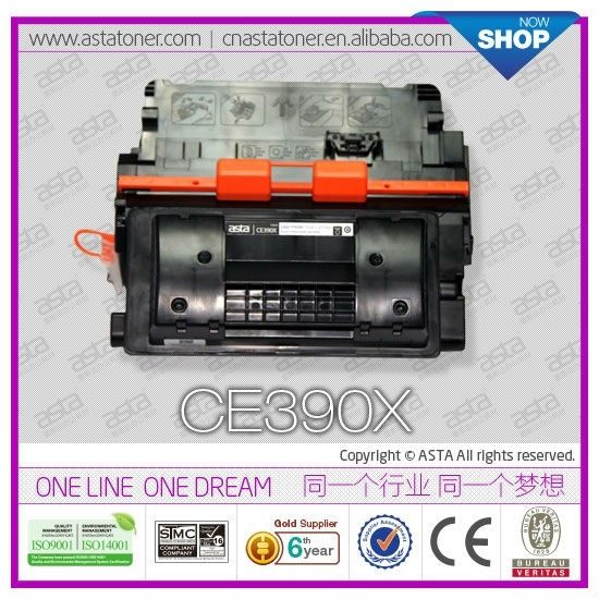 for hp CE390A 90a toner cartridge used copiers for printer 4555dn