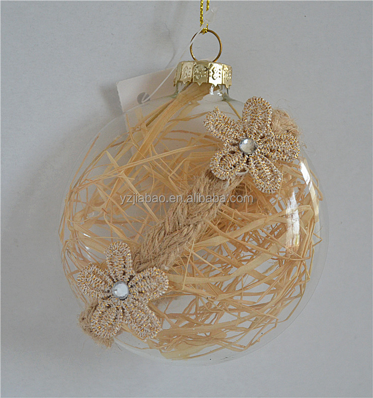 Christmas deoration 2016 clear glass ball christmas ornaments crafts from online china shopping