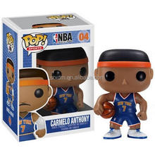 funko pop basketball players vinyl toys/customized pvc vinyl toys/custom make your own funko pop toys