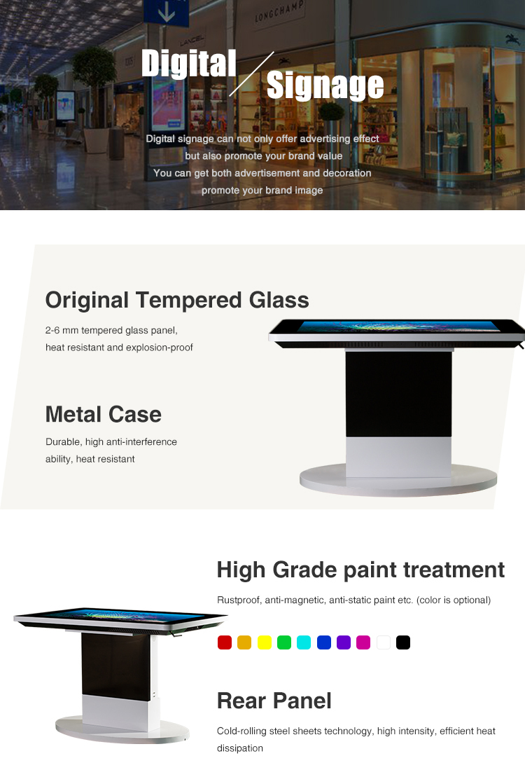 "43"" 1080P Android Touch Screen Coffee Table"