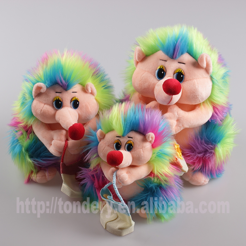 2017 new colorful baby toys gifts for kids plush hedgehog soft toys