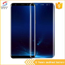 4D 9H tempered glass for samsung galaxy s7 edge screen protector