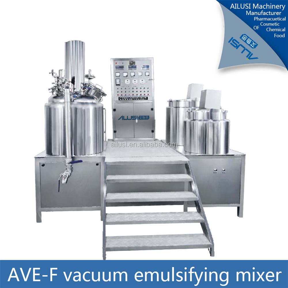 SUS316 machine pour fabrication de mayonnaise/facial cream making machine/emulsiyer margarine