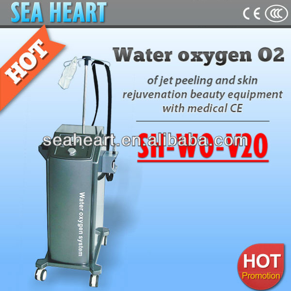 Multifunctional Skin Oxygen Jet Injection, water oxygen jet peeling and skin rejuvenation beauty equipment with medical CE