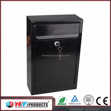 HF-MB1006 waterproof wall mounted stainless steel mail box