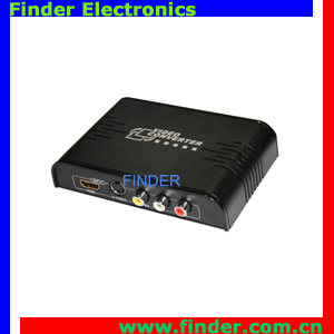 Video Converter Which Can Convert Composite RCA Video(CVBS)&S-video to HDMI Converter with Scaler