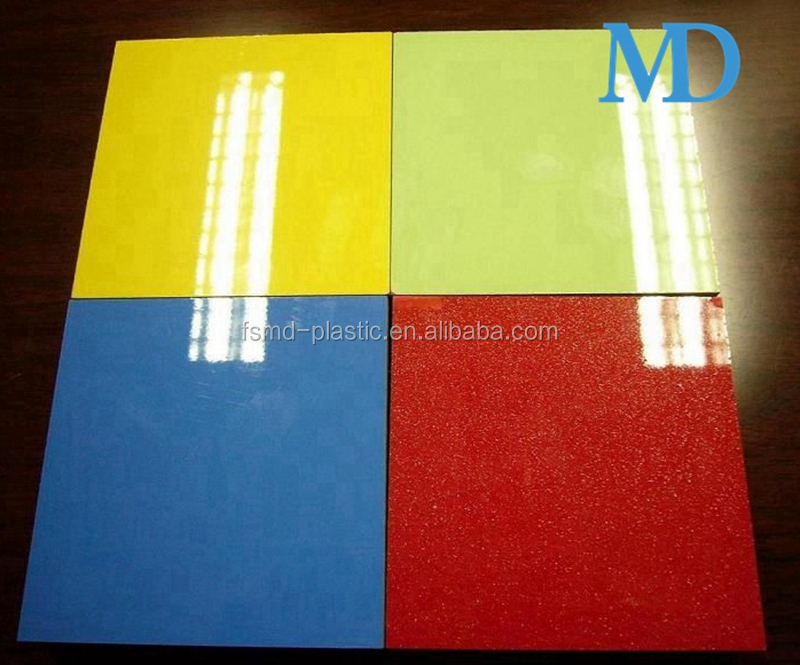 Scratch Resistance acrylic sheet for kitchen cabinet door and furniture surface