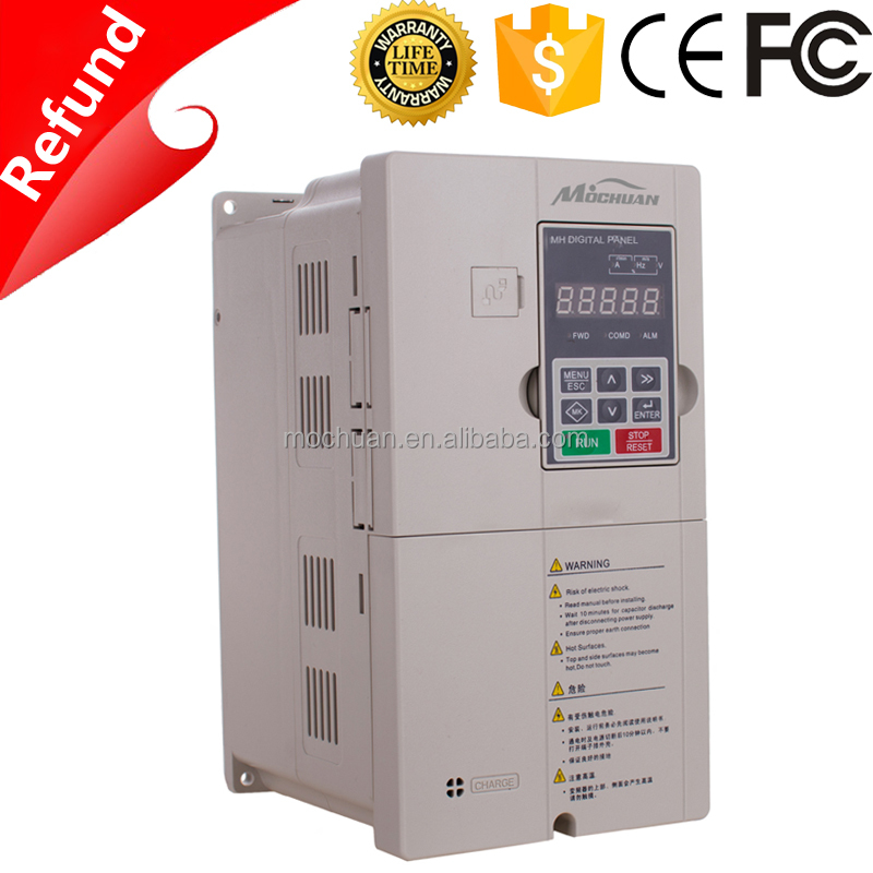 V/F control 1 phase AC to DC variable frequency inverter/converter for motor spindle