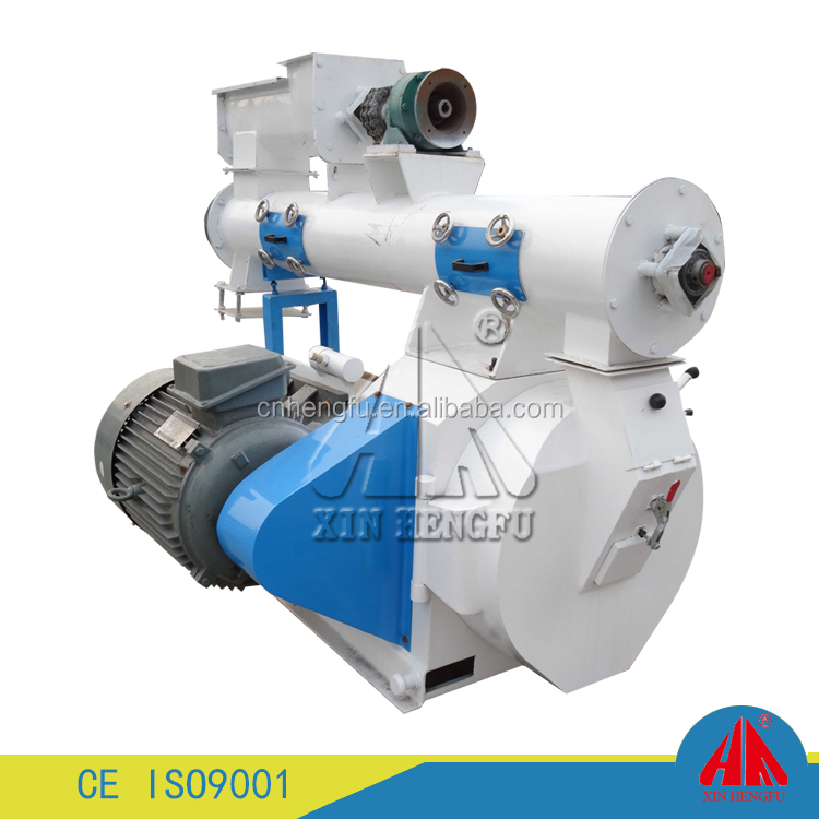 500-1000kg/h farm poultry feed mill equipment/small animal feed pellet mill/grain fodder pellet making machine