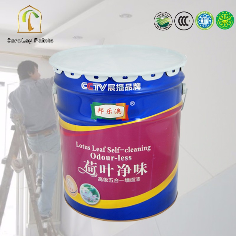Cheap 5 in 1 water-based acrylic emulsion interior wall paint 20l