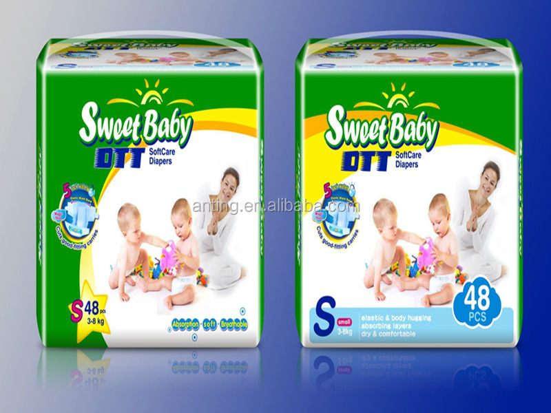 Cheap sweet baby diaper,hot selling