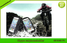 gadgets hot selling 2015 waterproof bicycle cell phone holder for samsung galaxy s6