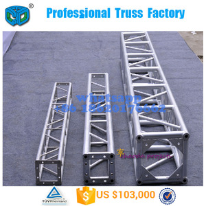 Aluminum outdoor stage box truss for event