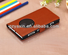 Waterproof case for nokia lumia 1020,Newest arrival pu leather stand wallet flip case for nokia lumia 1020