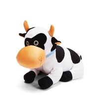 Top quality funny shape plush cow toys