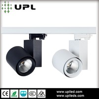New & nice design housing black or white LED track spot lights 35w for clothing store window display