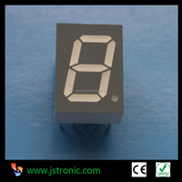 "0.56"" white color 1 digit seven segment led numeric display"