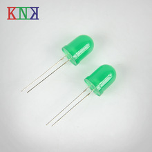 10mm round Green LED Diode,Low Power led